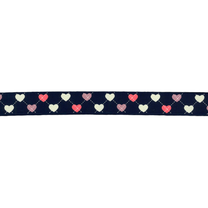 -Ripslint hartje zwart 16mm 22384-16-000 - Ripslint hartje zwart 16mm 22384-16-000