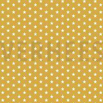 ByPoppy21 4955-026 Katoen little stars oker - ByPoppy21 4955-026 Katoen little stars oker