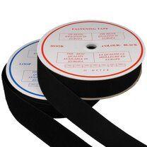 -Klittenband Naaibaar 5 cm breed Zwart - Klittenband Naaibaar 5 cm breed Zwart