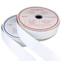 Kliitenband Plakbaar 5 cm breed Wit - Kliitenband Plakbaar 5 cm breed Wit
