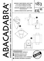 -Abacadabra Muster 183 Badeponcho, Bademantel, Wickeltasche - Abacadabra Muster 183 Badeponcho, Bademantel, Wickeltasche