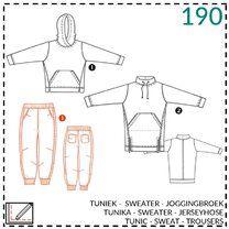 -Abacadabra patroon 190: tuniek, sweater, joggingbroek - Abacadabra patroon 190: tuniek, sweater, joggingbroek