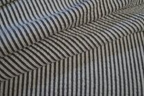 -kn 17510-999 Seersucker streep grijs/off-white - kn 17510-999 Seersucker streep grijs/off-white