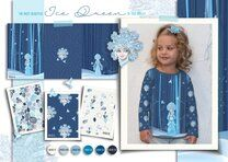 Stenzo 21/22 18535 French Terry digitaal ice queen blauw - Stenzo 21/22 18535 French Terry digitaal ice queen blauw