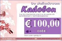 Kadobon 100 euro - Kadobon 100 euro