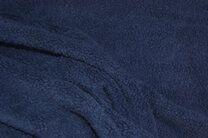 RS 0233-008 Fleece katoen donkerblauw - RS 0233-008 Fleece katoen donkerblauw