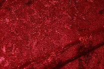 NB 3958-016 Kant gebloemd warm rood - NB 3958-016 Kant gebloemd warm rood
