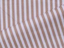 NB 5574.53 Baumwolle Streifen beige - NB 5574.53 Baumwolle Streifen beige
