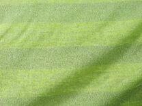 A812 Gebreid streep lime glitter - A812 Gebreid streep lime glitter