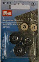 Prym Magneetknopen 19mm. (416.470)* - Prym Magneetknopen 19mm. (416.470)*