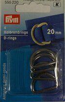 *Prym D ringen 20mm (555.220) - *Prym D ringen 20mm (555.220)
