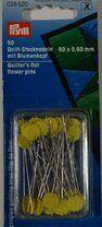 *Prym quiltspelden met bloemenkop (028.520) - *Prym quiltspelden met bloemenkop (028.520)