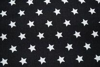 NB 5571-069 Baumwolle Sterne schwarz - NB 5571-069 Baumwolle Sterne schwarz