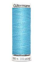 -Gütermann naaigaren lichtblauw 196 - Gütermann naaigaren lichtblauw 196