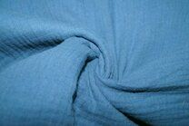 NB 3001-006 Hydrofielstof uni oudblauw - NB 3001-006 Hydrofielstof uni oudblauw