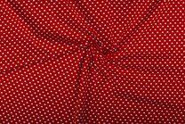 NB 1264-015 Katoen kleine hartjes rood - NB 1264-015 Katoen kleine hartjes rood