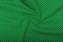 -NB 1264-025 Katoen kleine hartjes groen - NB 1264-025 Katoen kleine hartjes groen