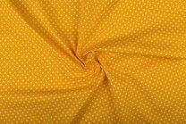 -NB 1264-035 Katoen kleine hartjes geel - NB 1264-035 Katoen kleine hartjes geel