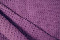 NB 2902-45 Waffelbaumwolle violett - NB 2902-45 Waffelbaumwolle violett