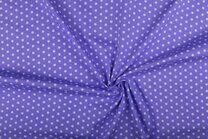 NB 1266-043 Katoen kleine sterretjes lila - NB 1266-043 Katoen kleine sterretjes lila