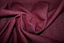 -NB 3928-018 Jeansstoff Stretch bordeaux - NB 3928-018 Jeansstoff Stretch bordeaux