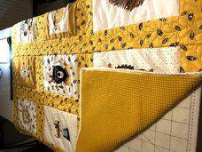 Ledikant quilt deken