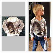 Charlie shirt met wasbeer