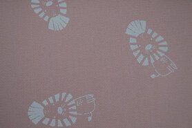 Kanevas - KC2502-332 Canvas Löwe rosa