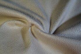 Kunstleder und Suedine - KN19 0541-025 Unique leather beige