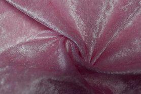 Velours de panne - NB 5666-013 Velours de panne lichtroze