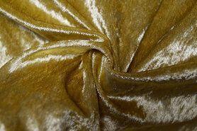 Carnavalsstoffen - NB 5666-080 Velours de panne goudkleurig