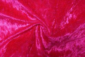 Velours de Panne - NB 5666-17 Velours de panne fuchsie