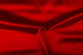 Feeststof - NB 4796-015 Satijn rood