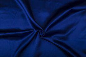 Carnavalsstoffen - NB 4796-005 Satijn kobaltblauw