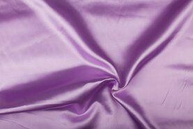 Carnavalsstoffen - NB 4796-043 Satijn lila