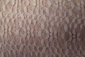 Polyester en lycra - Ptx 966301-320 Kant-achtig rekbaar donkerbeige