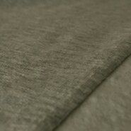 60% katoen, 40% polyester - KN19/20 15244-215 French Terry brushed groen