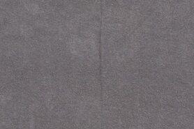 80% katoen, 20% polyester - NB 11707-068 Rekbare badstof grijs