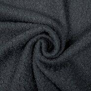 Gebreide stof - KN19/20 0763-980 Boucle grijs