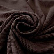 Donkerbruin - KN19/20 0808-100 Tricot Viny Twill donkerbruin