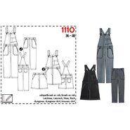 Naaipatronen - It's a fits 1110: tuinbroek en -jurk
