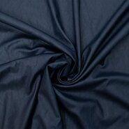Kunstleder und Suedine - KN19/20 0814-600 Air Washed Leather dunkelblau