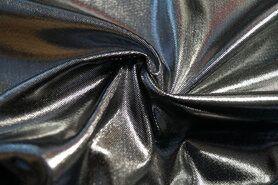 Carnavalsstoffen - KN 0171-95 Lamee (rekbaar) zilver