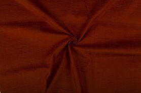Ribcord en velvet - NB 9471-056 Ribcord donker kastanje