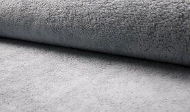 80% katoen, 20% polyester - RS0034-003 Teddy katoen grijs/blauw
