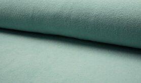 Fleece stoffen - RS 0233-022 Fleece katoen dusty mint
