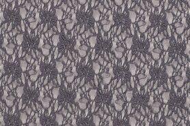 Spitzenstoff kaufen - NB19/20 12085-054 Spitze grau