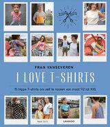 Diverse (hobby) patroonboeken - I love t-shirts maat 92 - XXL