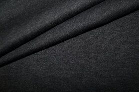 Viscose, polyester, spandex - NB 0835-168 Bi-stretch donkergrijs
