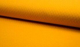 Deken - KC8242-033 Gestepte tricot diamond oker